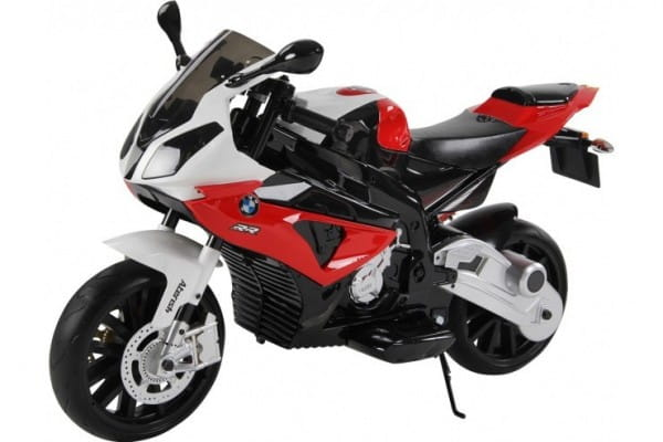 Детский электромотоцикл Jiajia JT528-red BMW S1000PR 12V - красный