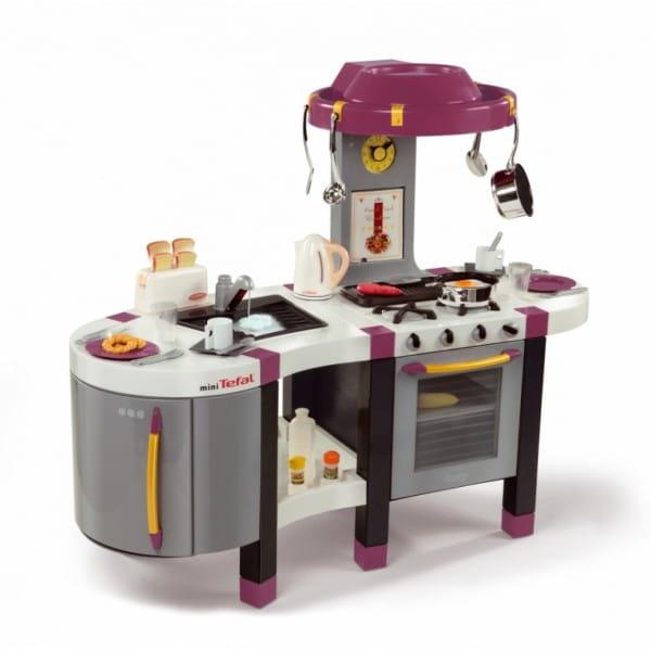 Купить Кухня Tefal Французское прикосновение French Touch Excellence с аксессуарами (Smoby) в интернет магазине игрушек и детских товаров