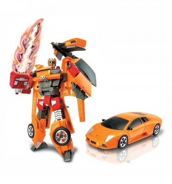 Робот-трансформер Happy Well 52010 Lamborghini Murcielago 1:32 со световыми эффектами