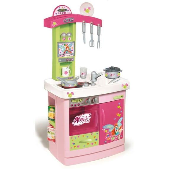 Купить Кухня Winx c аксессуарами (Smoby) в интернет магазине игрушек и детских товаров