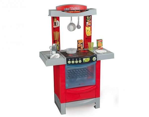 Купить Электронная кухня с водой miniTefal Cook tronic (Smoby) в интернет магазине игрушек и детских товаров