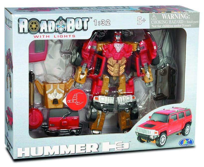 Робот-трансформер Happy Well 52030 Hummer H3 1:32 со световыми эффектами