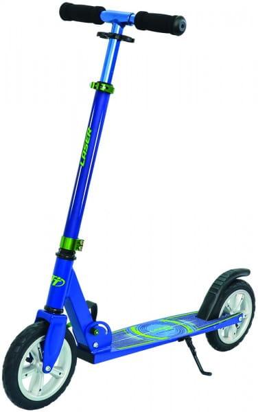 Детский самокат TechTeam во3033-2 Laser - синий