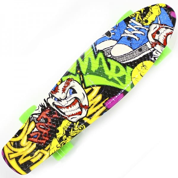 Скейтборд HUBSTER Cruiser Design Graffiti