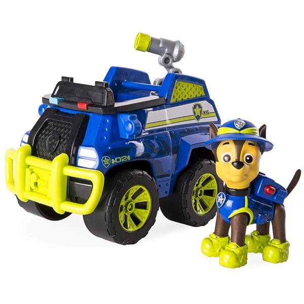 Игровой набор Paw Patrol Щенячий патруль Гонщик с полицейской машиной - Щенячий патруль