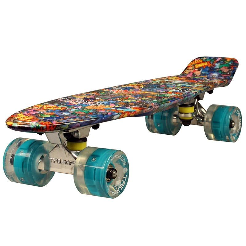 Скейтборд Triumf Active во2925 TLS-401G Hawaii