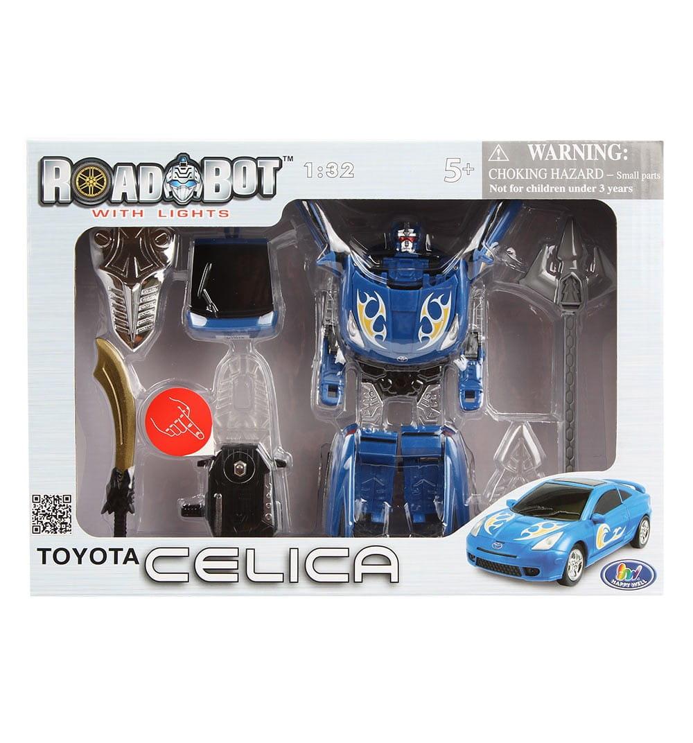 Робот-трансформер Happy Well 52040 Toyota Celica 1:32 со световыми эффектами