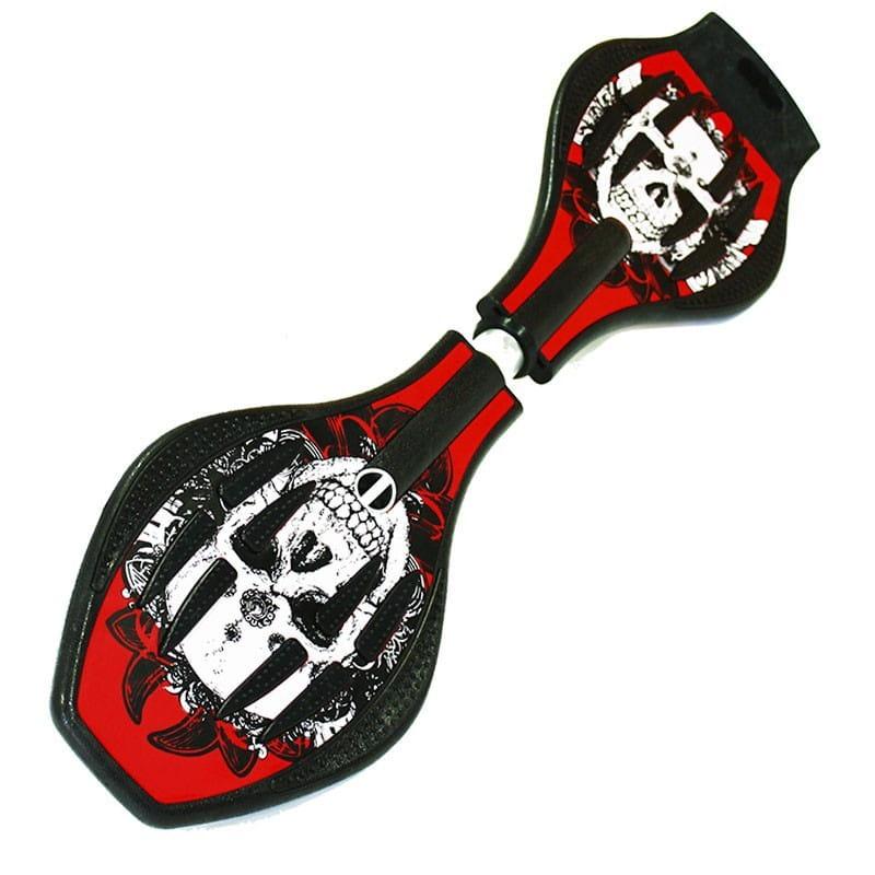 Двухколесный скейт Dragon Board во2229 Calavera - красный