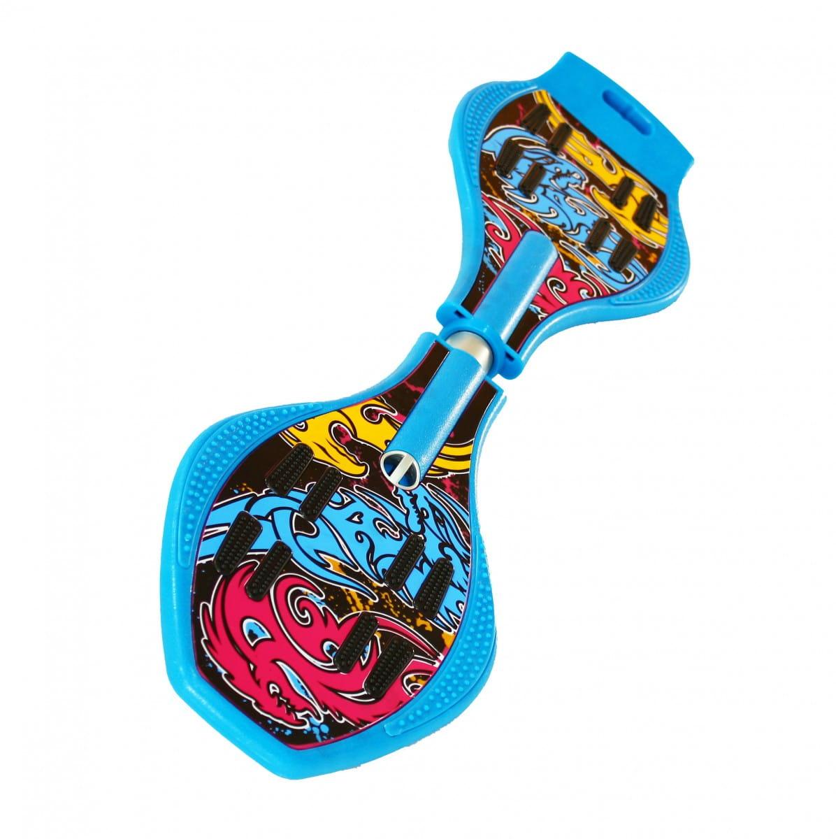 Двухколесный скейт Dragon Board Totem - синий