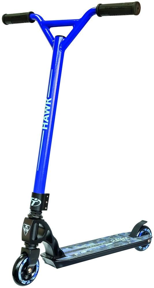 Детский трюковой самокат TechTeam во3038-1 Hawk - синий