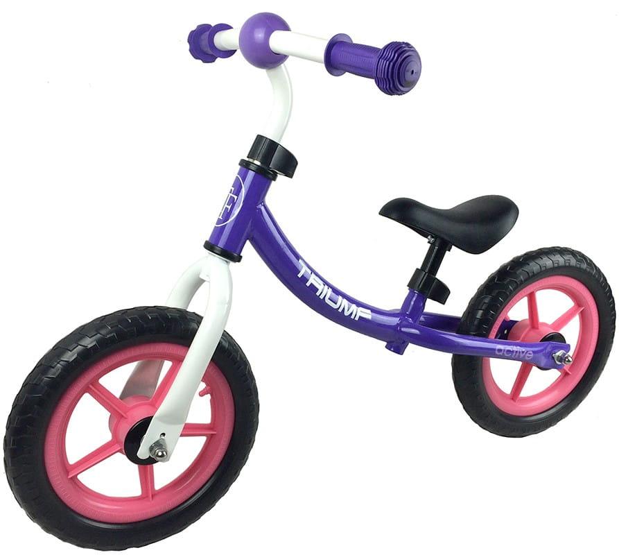 Детский беговел Triumf Active во2905-3 WB-06 - фиолетовый