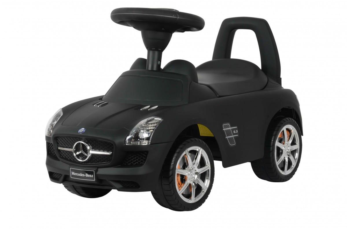 Каталка Barty Z332Р Mercedes - черная