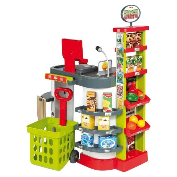 Купить Зеленый супермаркет 2 Smoby в интернет магазине игрушек и детских товаров