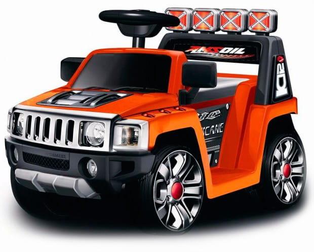 Электромобиль Barty ZP-V003 Hummer - оранжевый глянец