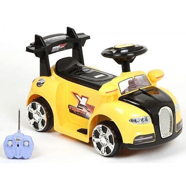 Электромобиль Barty ZP-V001 Bugatti - желтый