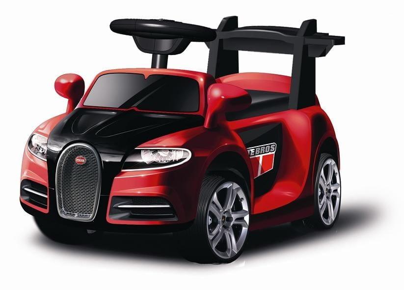 Электромобиль Barty ZP-V001 Bugatti - красный