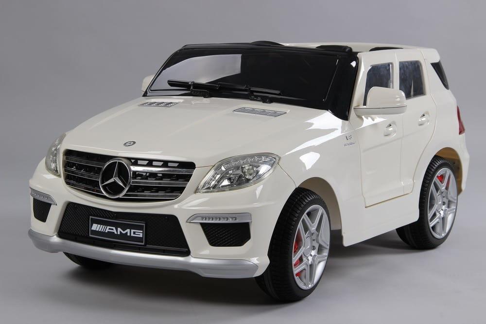 Электромобиль Barty DMD-168 Mercedes ML63 - белый глянец