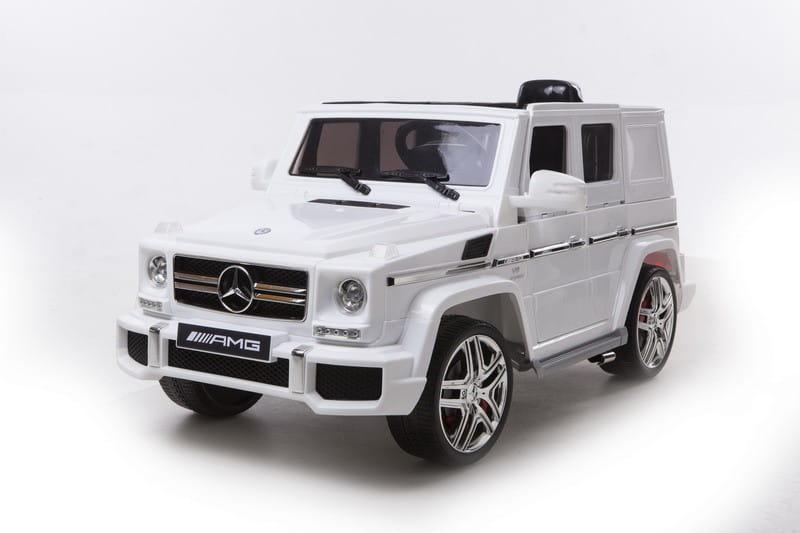 Электромобиль Barty HAL168 Mercedes G63 - белый глянец