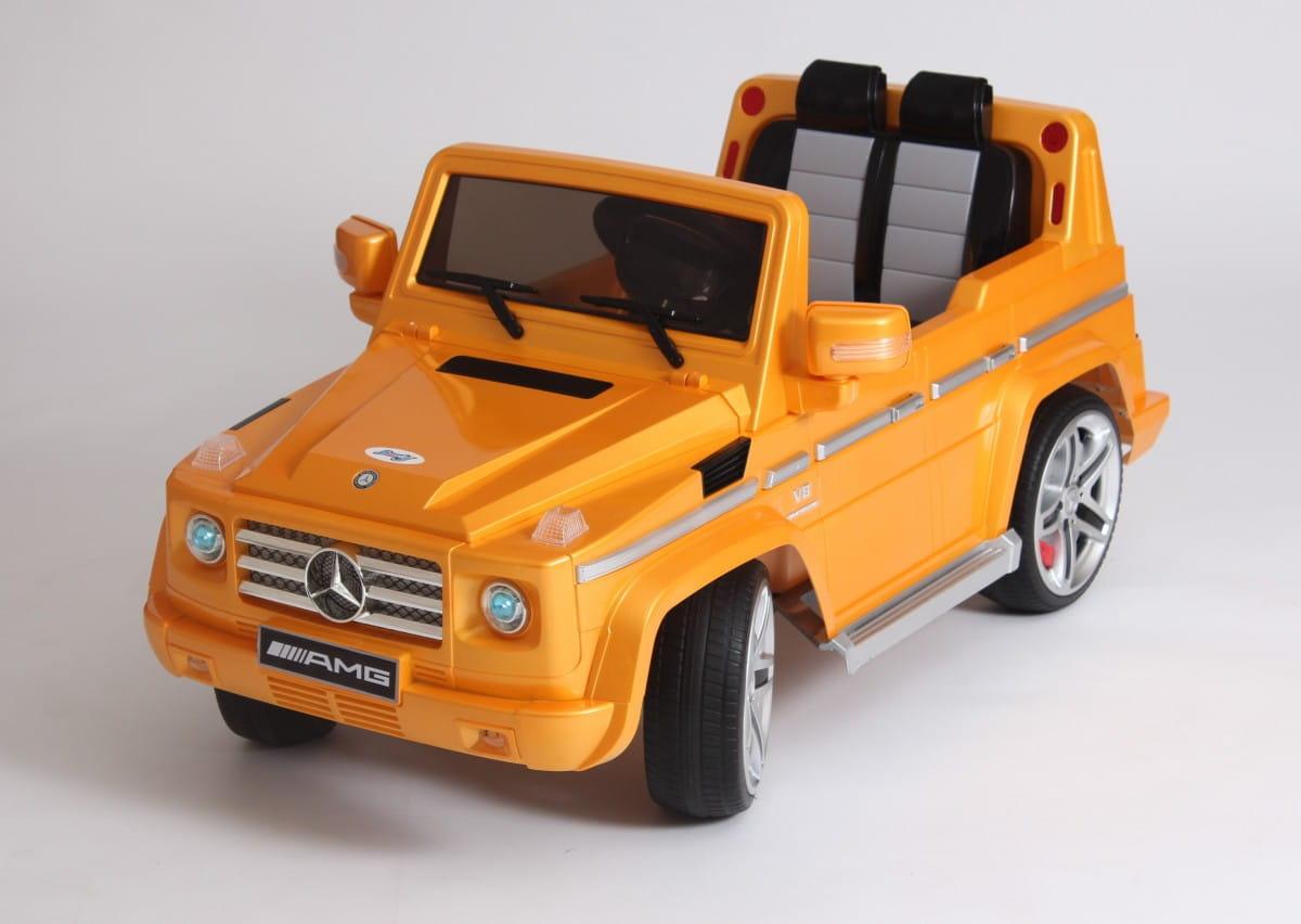 Электромобиль Barty DMD-G55 Mercedes G55 - золото глянец