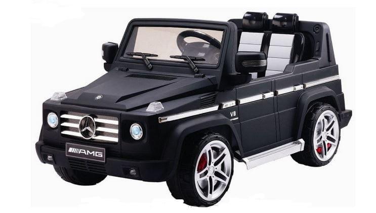 Электромобиль Barty DMD-G55 Mercedes G55 - черный матовый