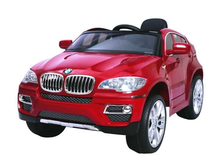 Электромобиль Barty JA-JJ258 BMW X6 - вишневый глянец