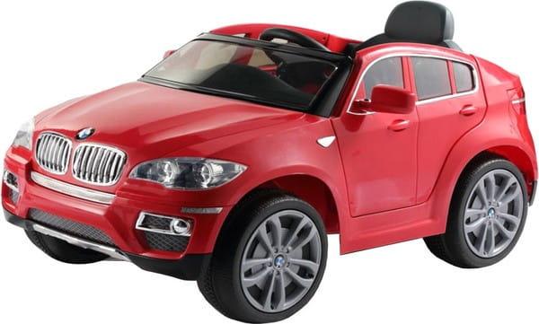 Электромобиль Barty JA-JJ258 BMW X6 - красный