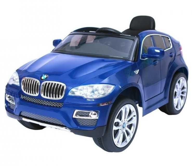 Электромобиль Barty JA-JJ258 BMW X6 - синий глянец