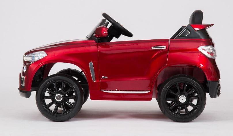 Электромобиль Barty KL-5188A BMW X5 VIP - красный глянец