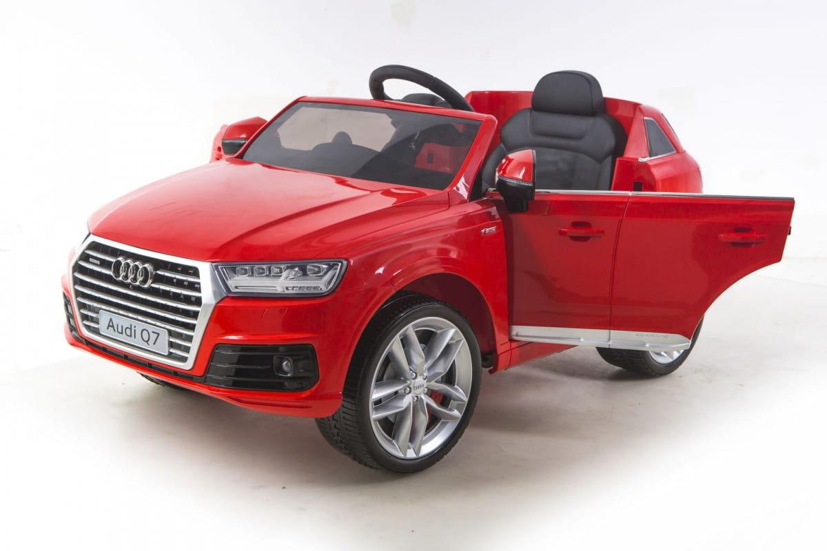 Электромобиль Barty HL159 Audi Q7 - красный глянец