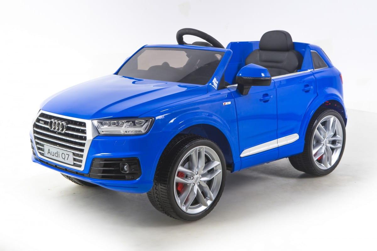 Электромобиль Barty HL159 Audi Q7 - синий глянец