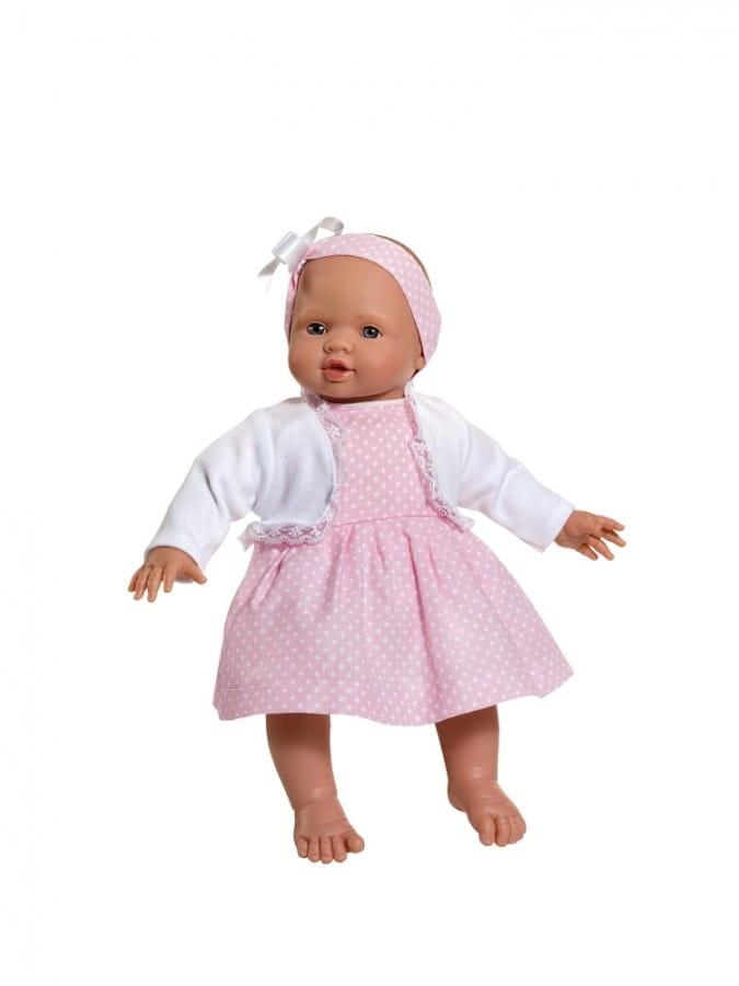 Кукла-пупс Asi 2393030 Попо - 36 см (в розовом платьице)
