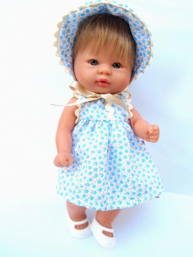 Кукла-пупс Asi 113890 - 20 см (в шляпке)