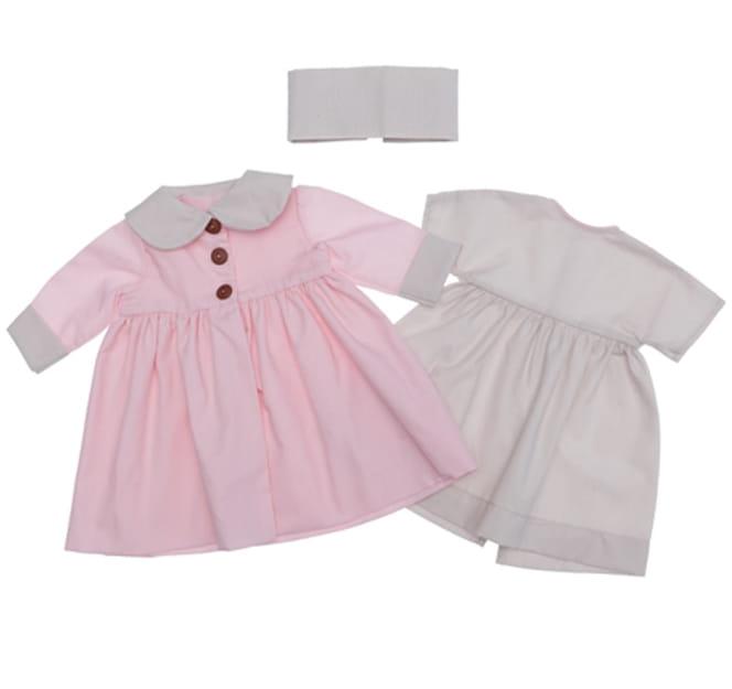 Одежда для кукол ASI Пальто и платье - 60 см