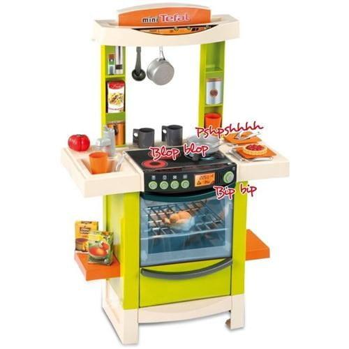 Купить Электронная кухня с аксессуарами Tefal - зеленая (Smoby) в интернет магазине игрушек и детских товаров