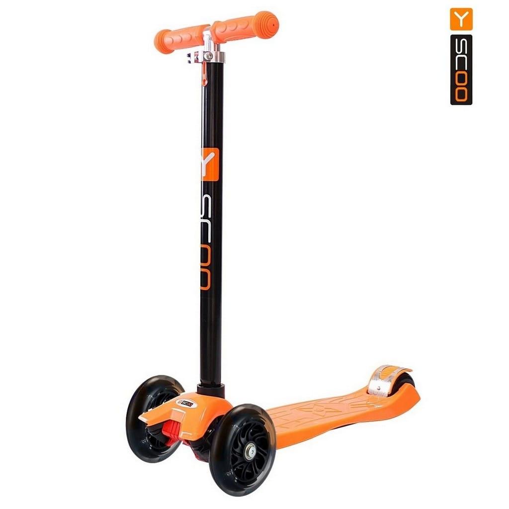 Самокат Y-Scoo 4530 Maxi A-20 Shine - Orange Plus