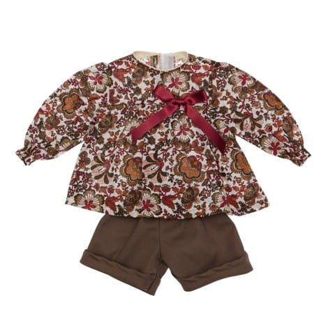Одежда для кукол Asi 0000109 Блуза и шортики - 60 см