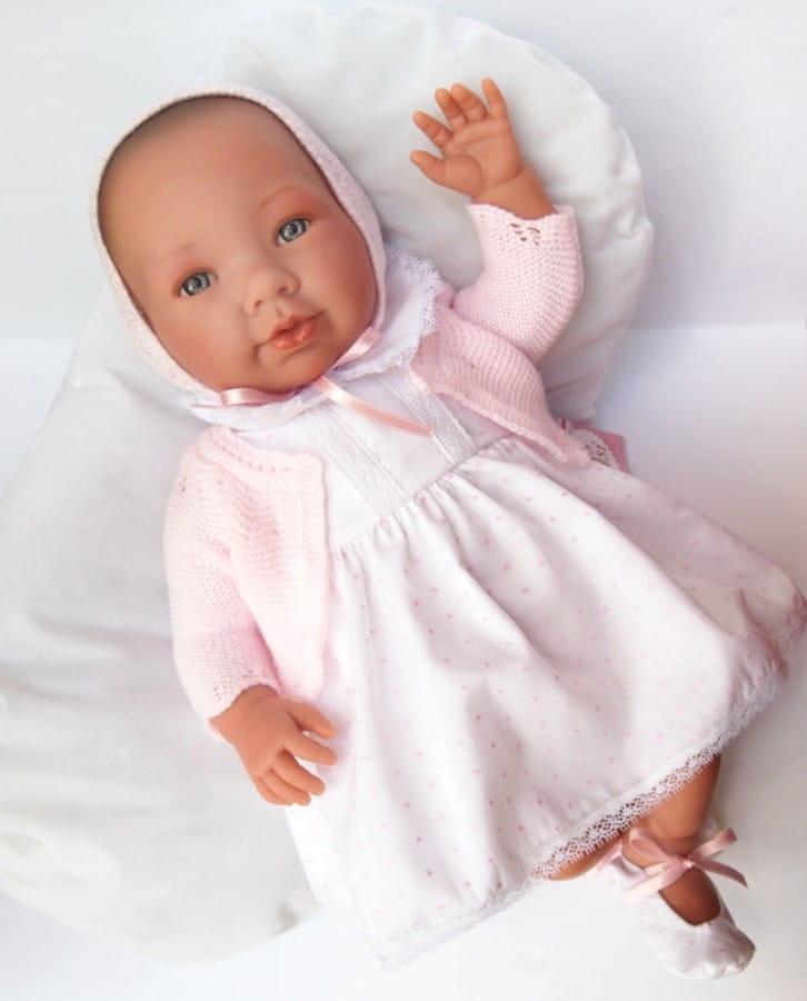 Кукла-пупс Asi 333970 Альба - 46 см (белый комплект)