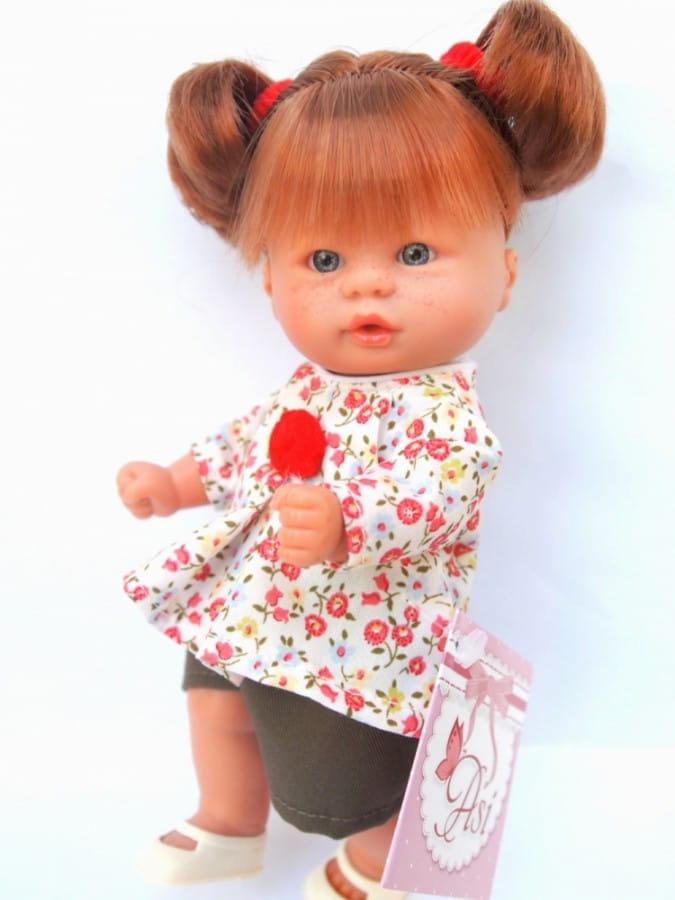 Кукла-пупс Asi 113900 - 20 см (в яркой кофточке)