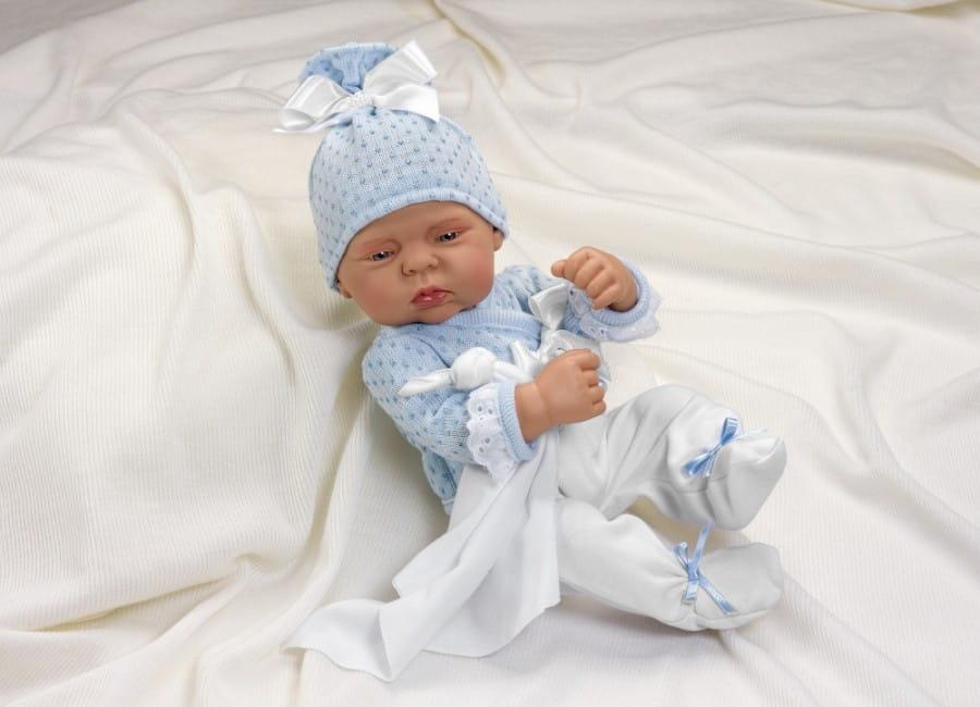 Кукла-пупс Asi 2320040 Лулу - 40 см (в голубом костюмчике)