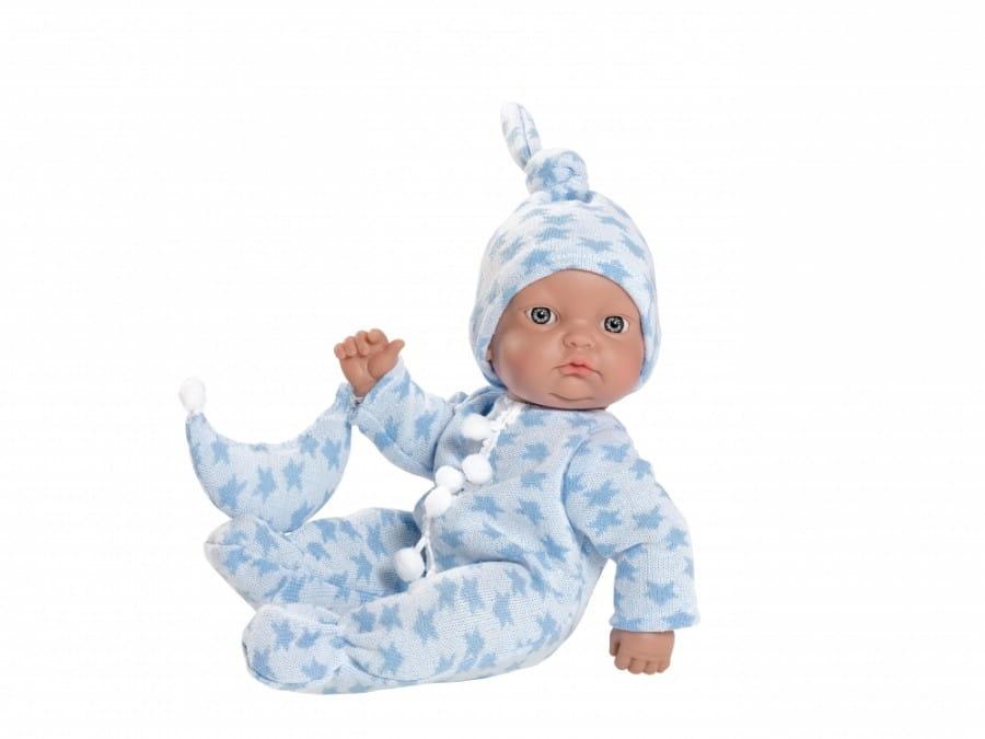 Кукла-пупс Asi 153641 Горди - 28 см (в голубом комбинезончике)