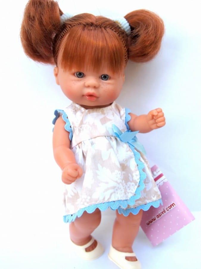 Кукла-пупс Asi 113910 - 20 см (в платье)