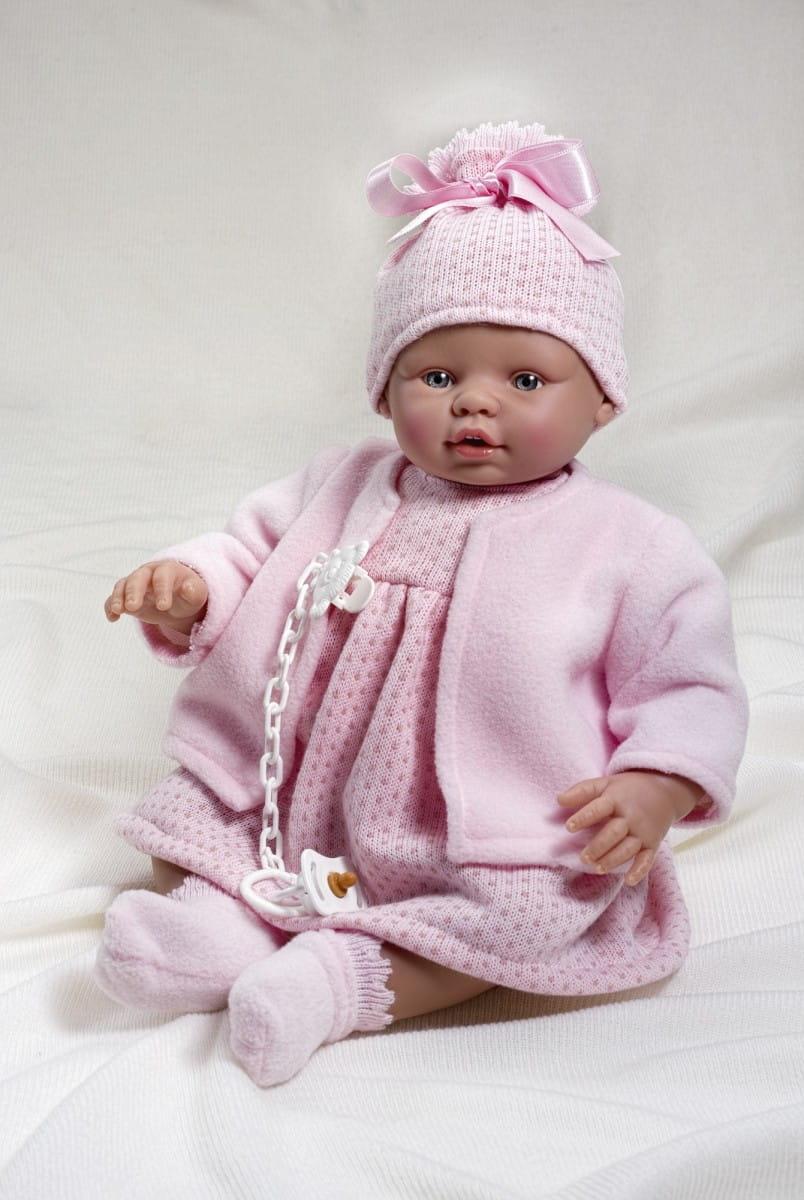 Кукла-пупс Asi 2420046 Неус - 45 см (в розовом комплекте)