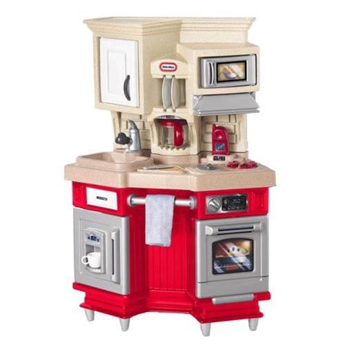 Кухня со звуковыми эффектами Little Tikes 484377 красная
