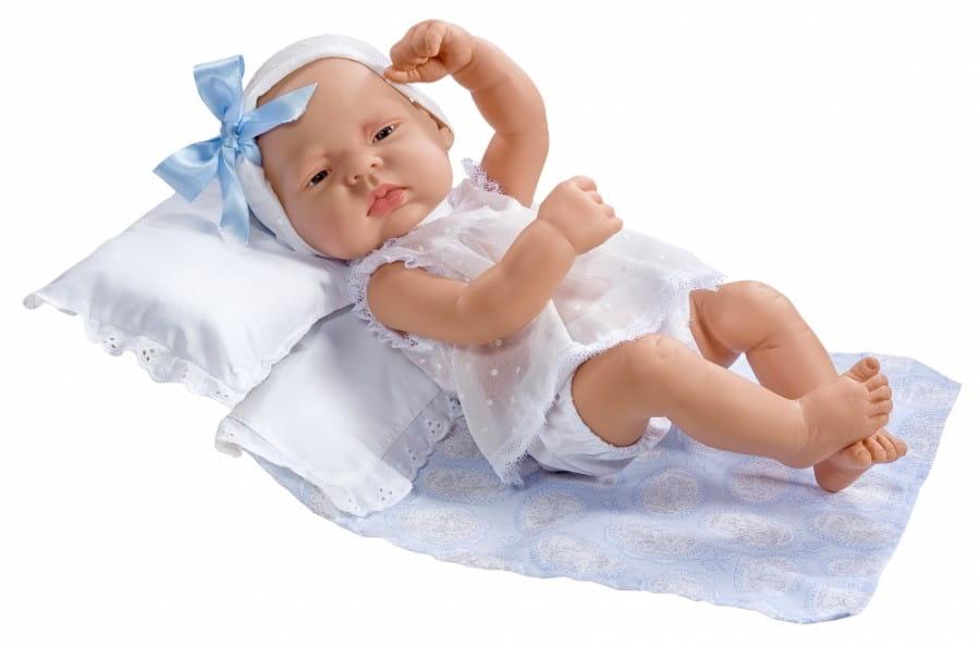 Кукла-пупс Asi 323831 Лукас - 42 см (в белом комбинезончике)