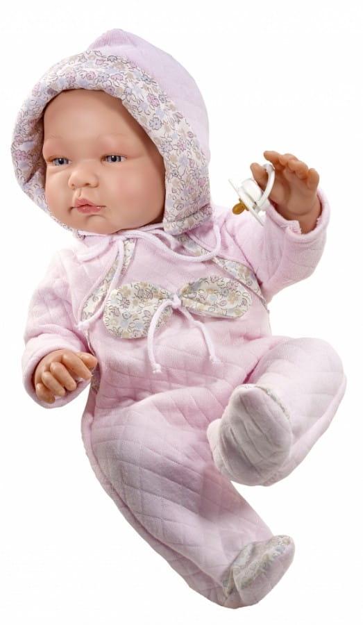 Кукла-пупс Asi 363750 Мария - 43 см (в розовом комбинезоне)