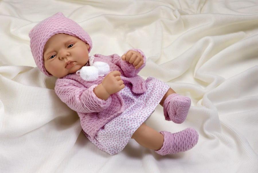 Кукла-пупс Asi 2320043 Лулу - 40 см (в нежно-розовом комплекте)