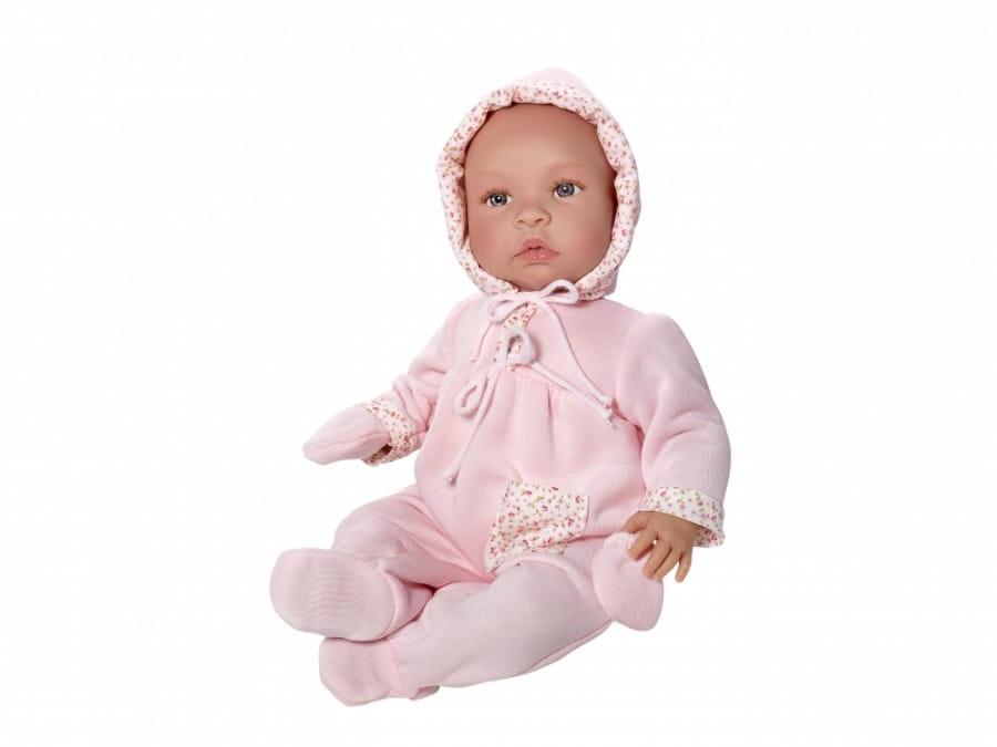Кукла-пупс Asi 183460 Лео - 46 см (в розовом комплекте и чепчике)