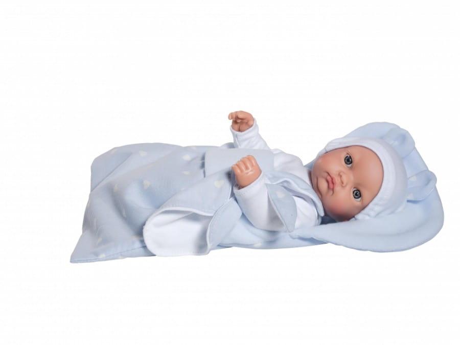 Кукла-пупс Asi 153611 Горди - 28 см (в голубом костюмчике)