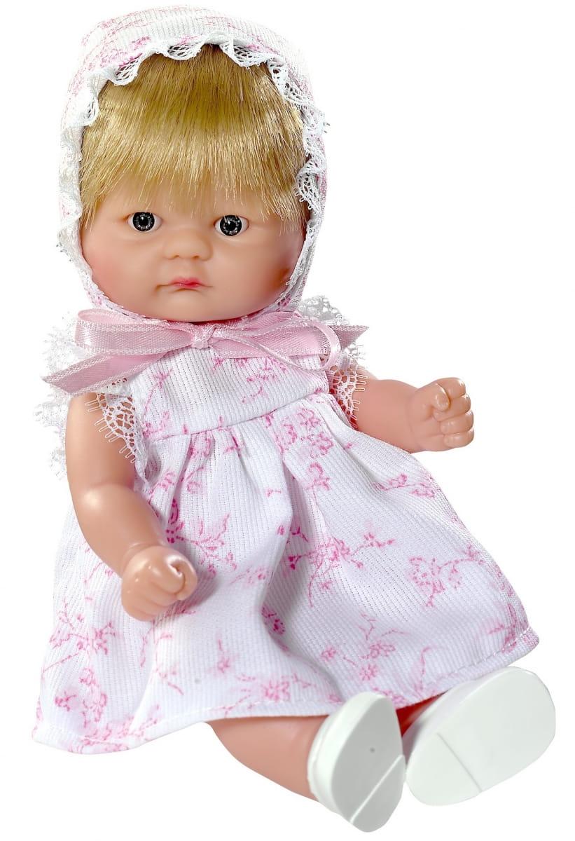 Кукла-пупсик ASI - 20 см (в белом платье)