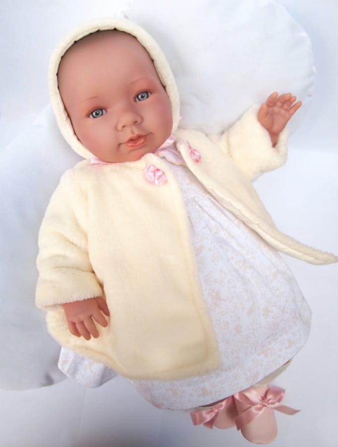 Кукла-пупс Asi 333980 Лола - 46 см (с розовым пледом)